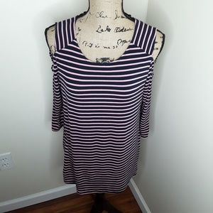 24/7 Maurices Tunic Top Size Large